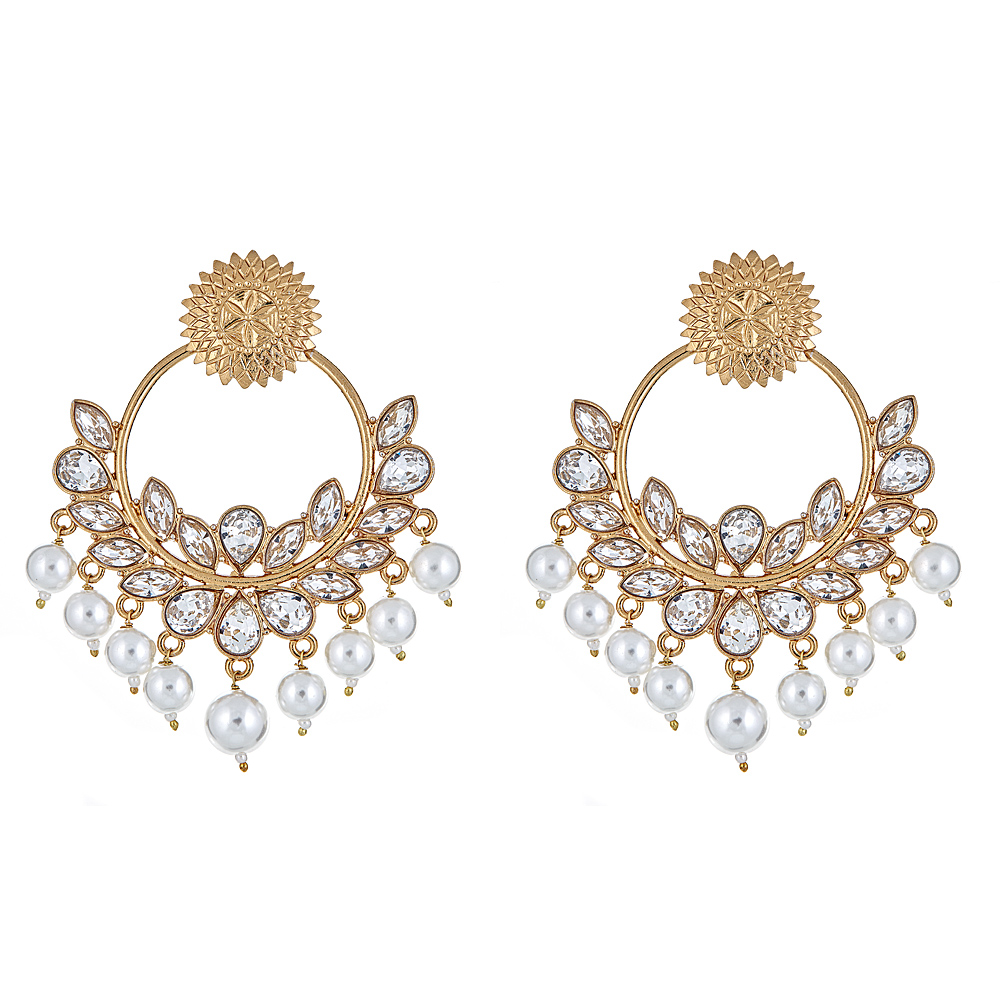 Amaya Floral Drop Earrings