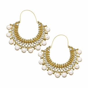 Amrita Earrings in Pearl