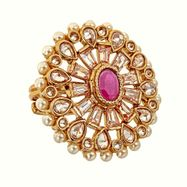 Aria Ring in Ruby Red