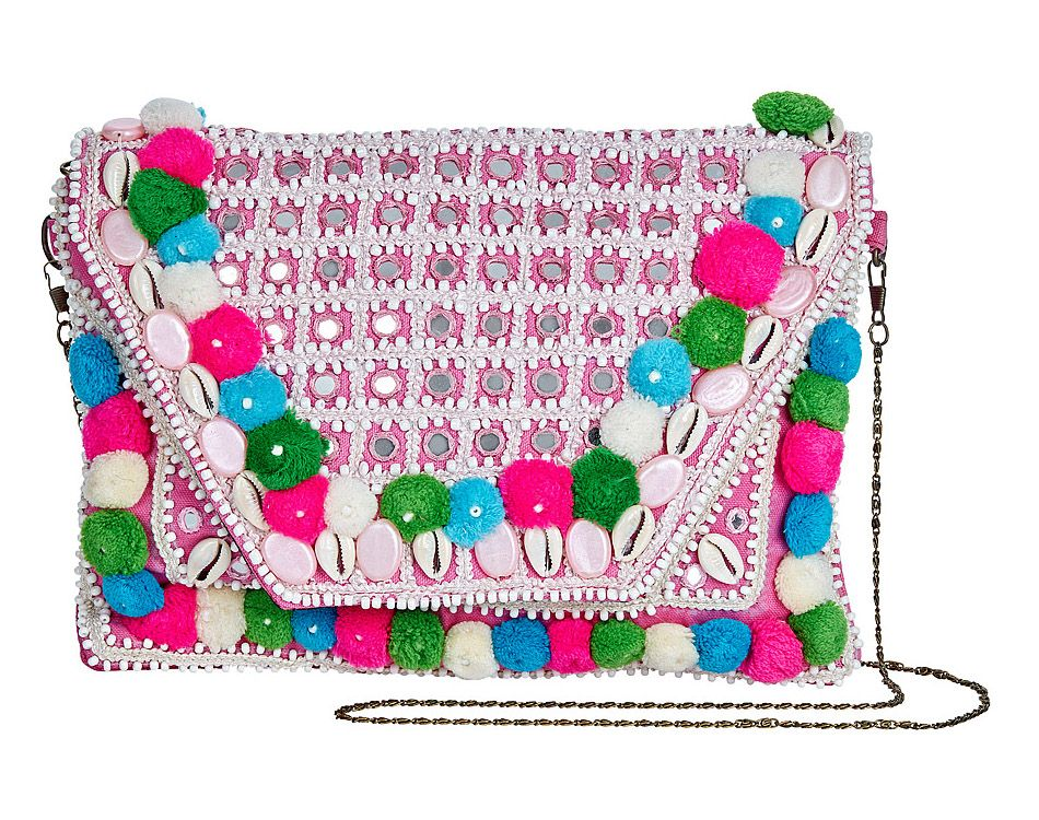 Barcelona Bohemian Clutch Bag