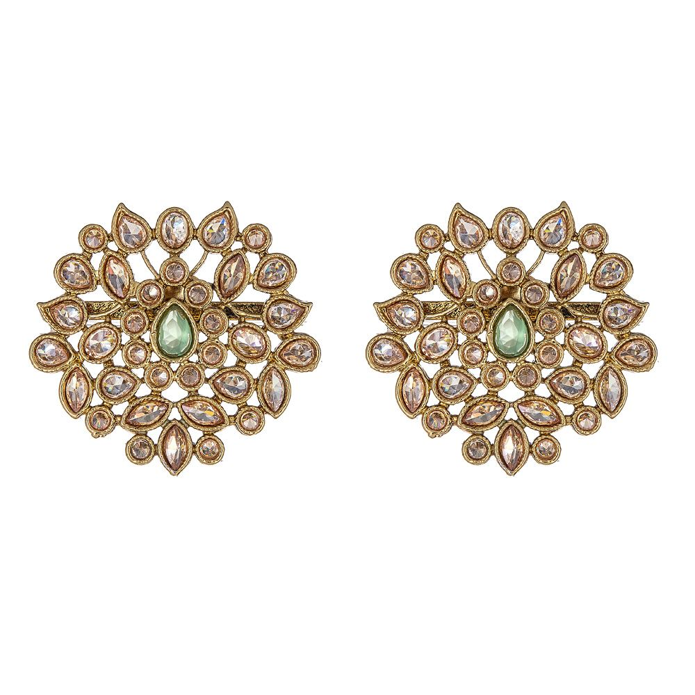 Eila Earrings in Gold