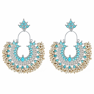 Gastby Earrings in Turquoise