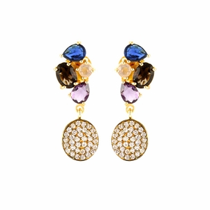 Vera Earrings in Multi Stones