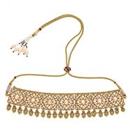Gunjan Bell Choker Necklace