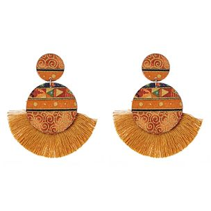 Kamila Baroque Fringe Earrings