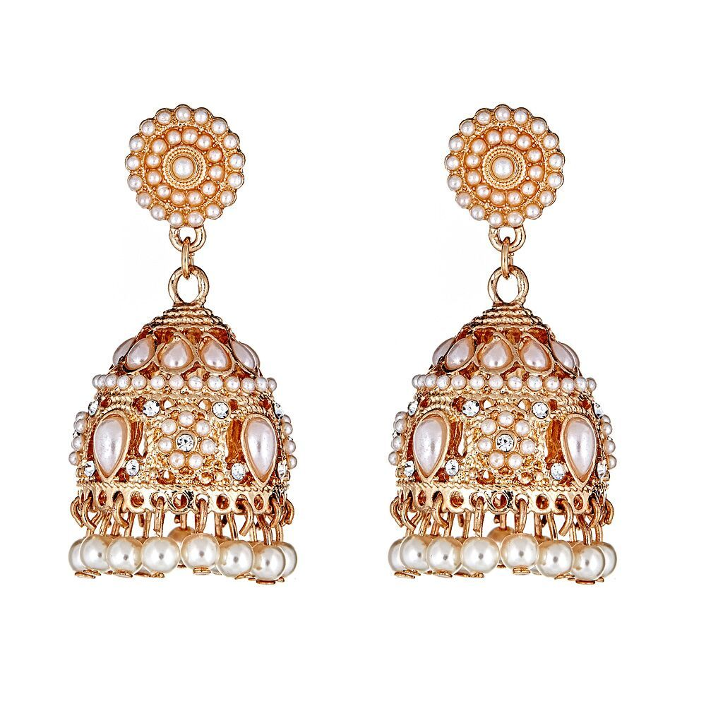 Karishma Pearl Drop Earrings