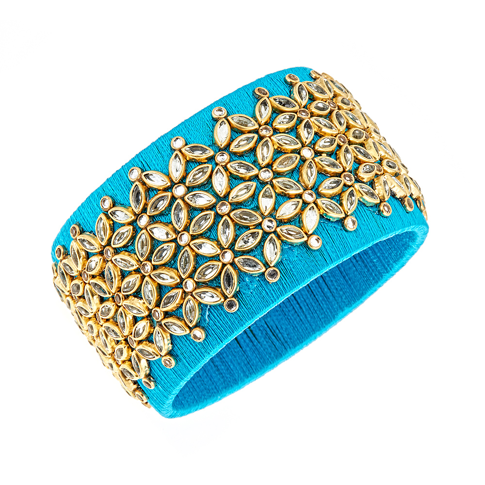 Kasi Silk Thread Bangle