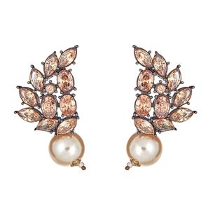 Lakesha Champage Drop Earrings