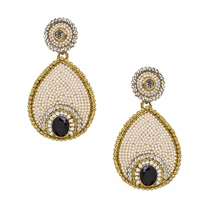 Larisa Earrings in Pearl