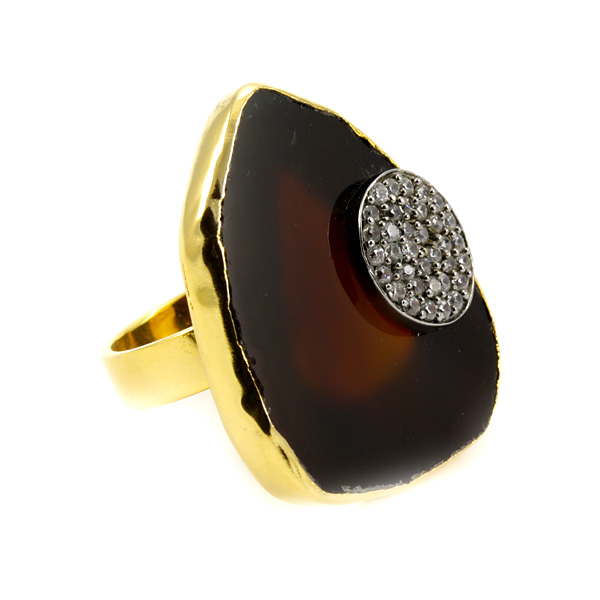 Lexi Ring in Brown