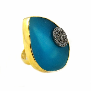 Lexi Ring in Turquoise