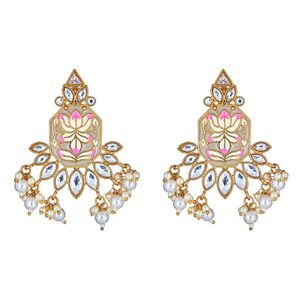 Mada Floral Drop Earrings
