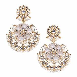 Maha Earrings in Pearl