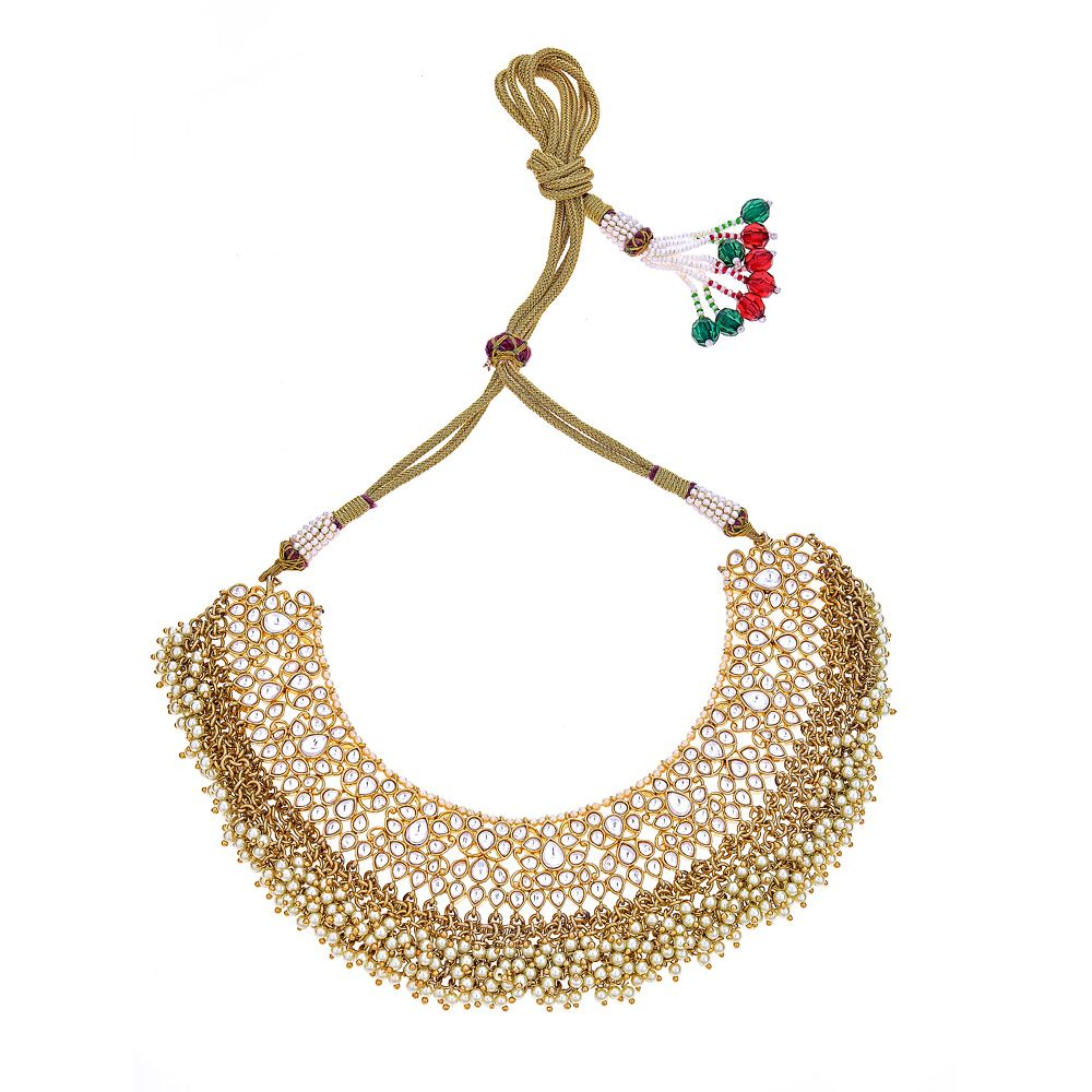Nandini Necklace in Gold