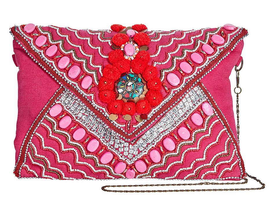 Mumbai Bohemian Clutch Bag
