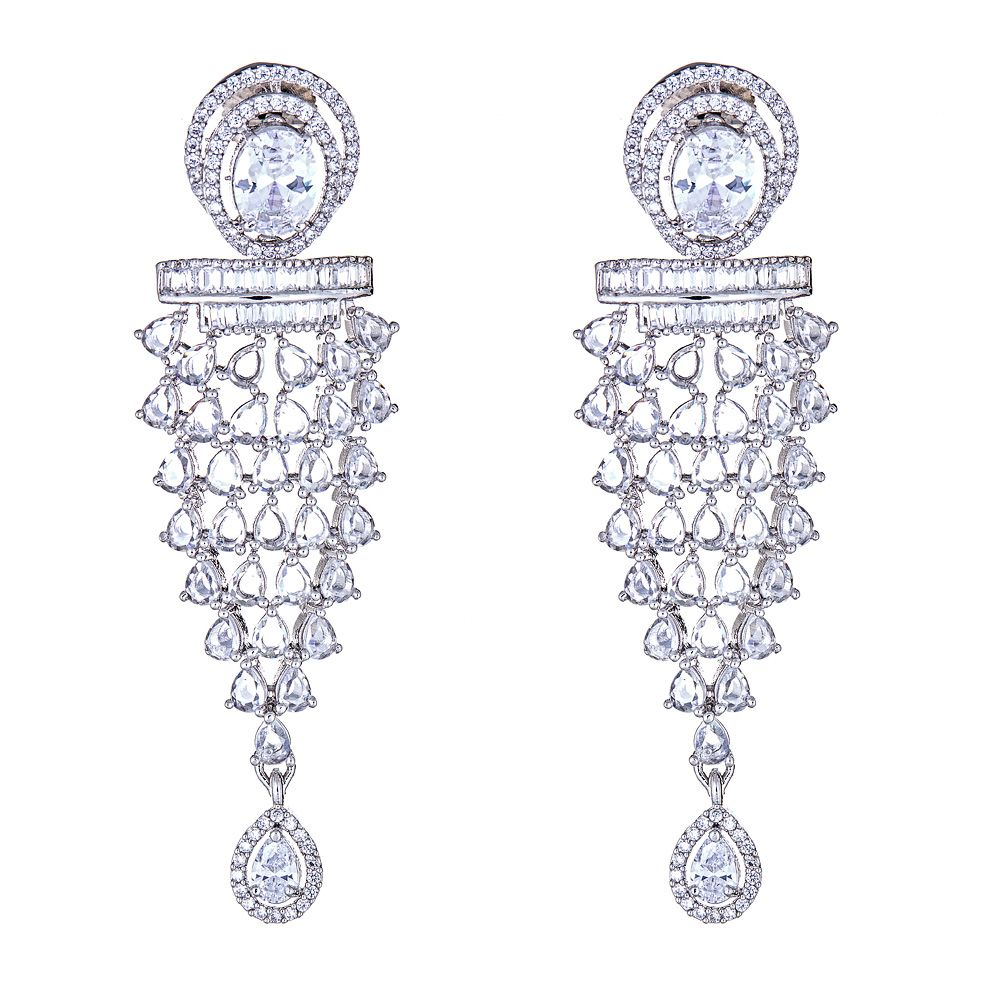 Murni Diamond Drop Earrings