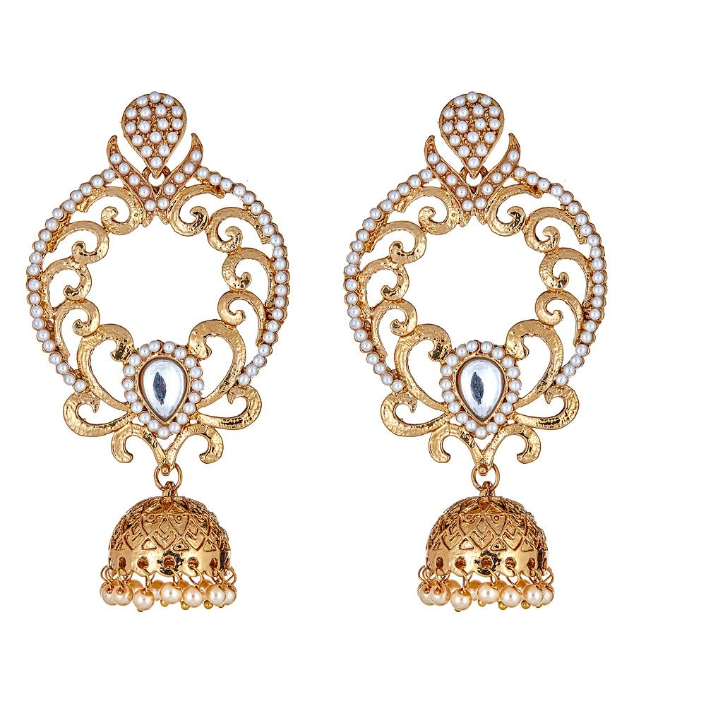 Nur Drop Earrings in Clear