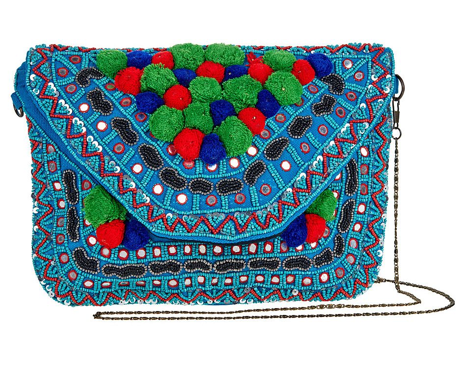 Prague Bohemian Clutch Bag