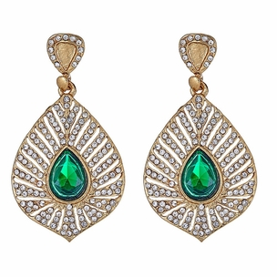Rafika Emerald Drop Earrings