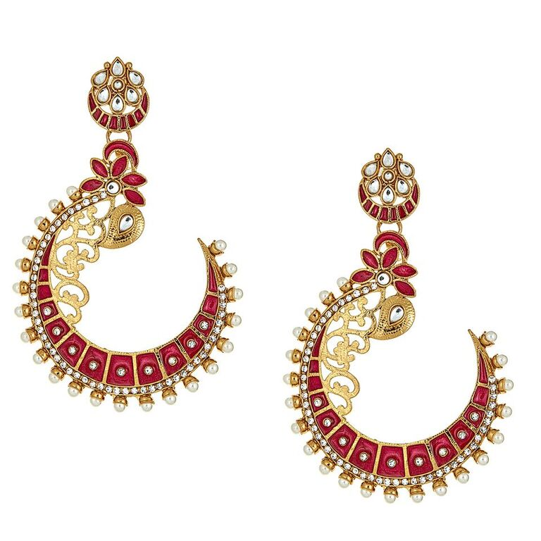 Rania Crescent Earrings