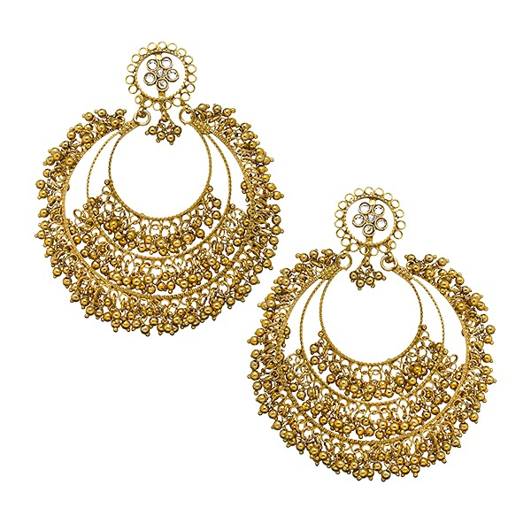 Siya Earrings in Gold