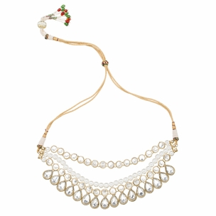Shreya Necklace in Pearl