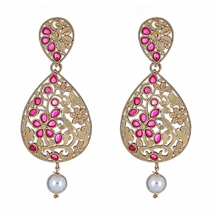 Soraya Floral Drop Earrings
