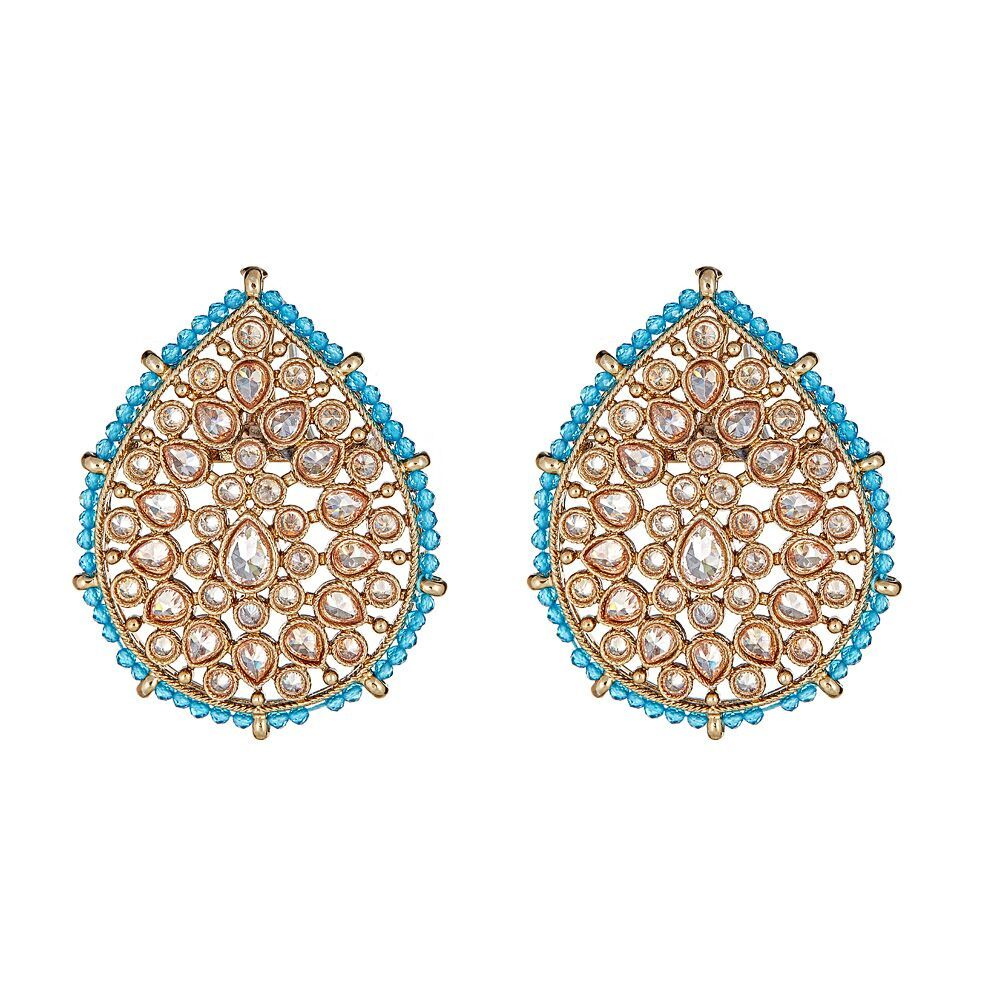 Suhana Studs in Turquoise