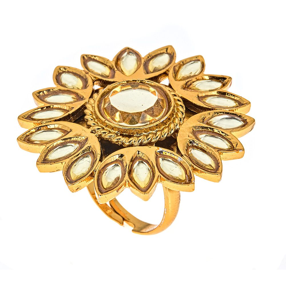 Sunflower Statement Ring
