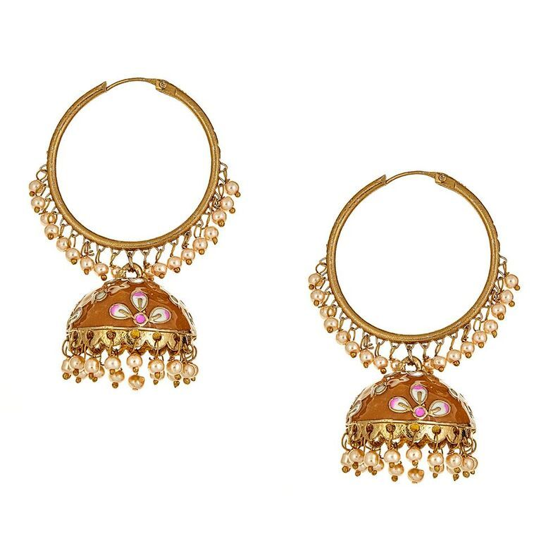 Svana Earrings in Yellow