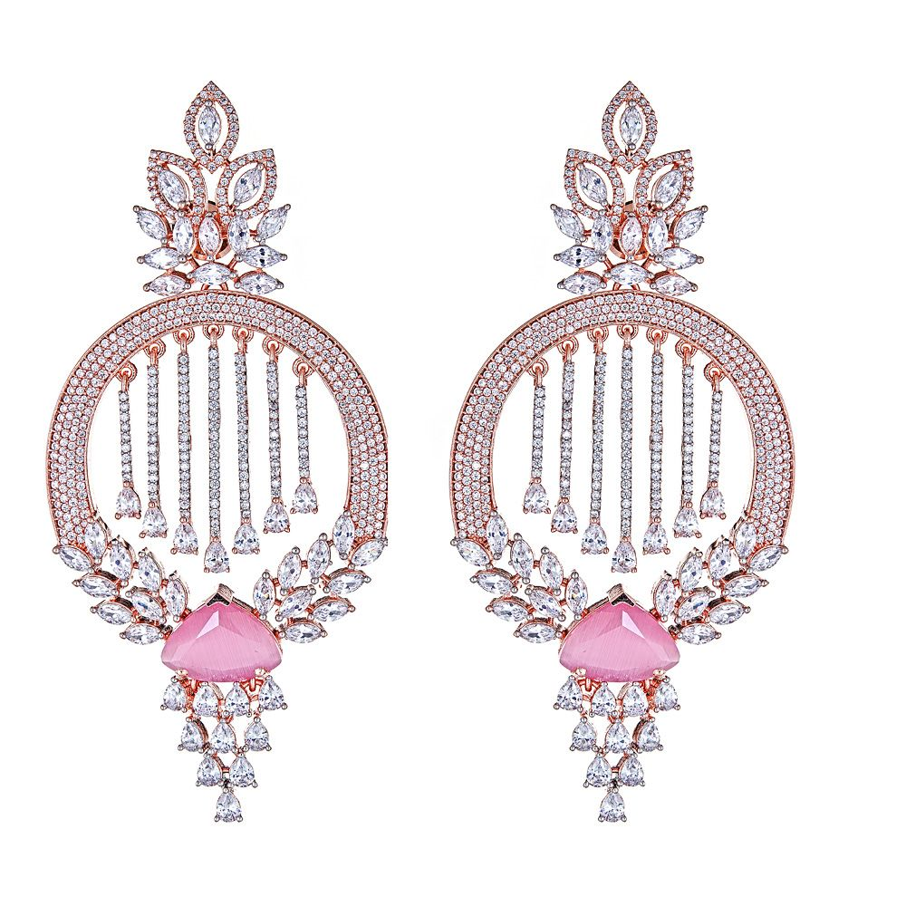 Tulay Earrings in Soft Pink
