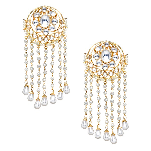 Ura Earrings in Pearl