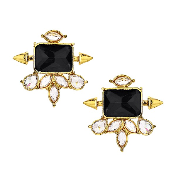 Wanderlust Onyx Stud Earrings