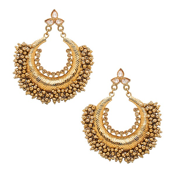 Zara Earrings in Gold