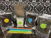 DELUXE 3 TEA Sampler - Assam Black Tea Earl Grey Tea Jasmine Green Tea Boba Bubble Tea CLASSIC Milk Tea DIY Kit