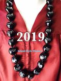 "Hawaiian Kukui Nut Graduation Lei- ""2019"" -Custom Lei"