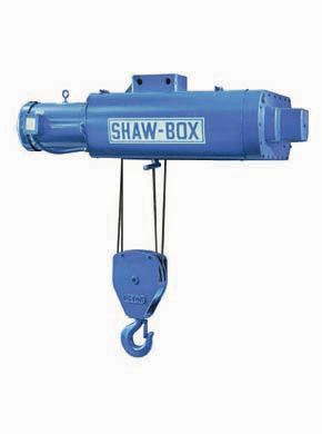 1 Ton Shawbox 700 Series Double Reeved Electric Wire Rope Hoist