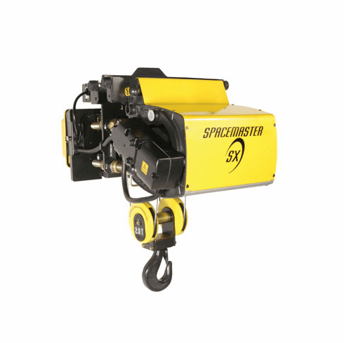 10 Ton R&M Spacemaster SX Double Reeved Electric Wire Rope Hoist