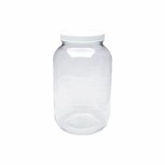 Glass Jar, 1 Gal ea, 4 Pack, includes S&H  Best Deal!