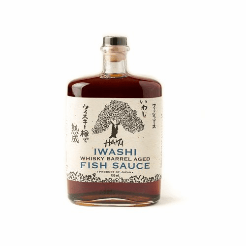 Haku Iwashi Whiskey Barrel Aged Fish Sauce (750 ml)