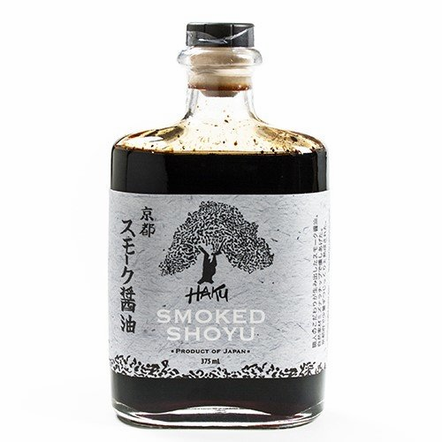 Haku Smoked Shoyu Soy Sauce - From Japan - 750 ml
