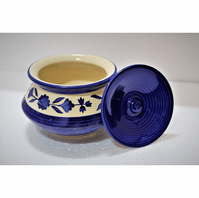 Indian Traditional Hand Painted Dahi Pot