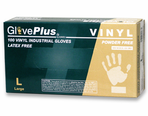 Kombucha Culturing Gloves - Vinyl Disposable - Large