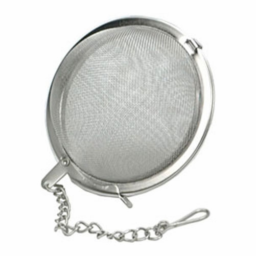 "Kombucha/JUN Tea Infuser - 3"" Mesh Ball, Stainless Steel"