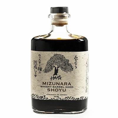 Mizunara Whiskey Barrel Aged Shoya/Soy Sauce - 750ml
