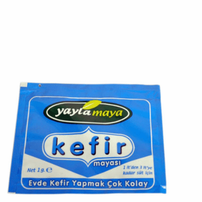 Turkish Dried Milk Kefir Starter Culture - 1 sachet/3 liters - 2 Pack