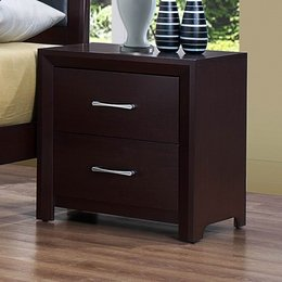 Cappuccino Brown Finish Night Stand