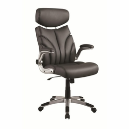 Grey Sleek Contemporary Office Chair