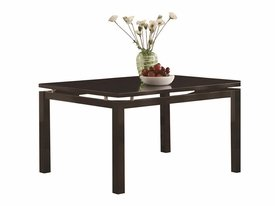 Dining Table with Floating Top # 103161