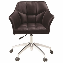 Scott Living Modern Upholstered Black Office Chair